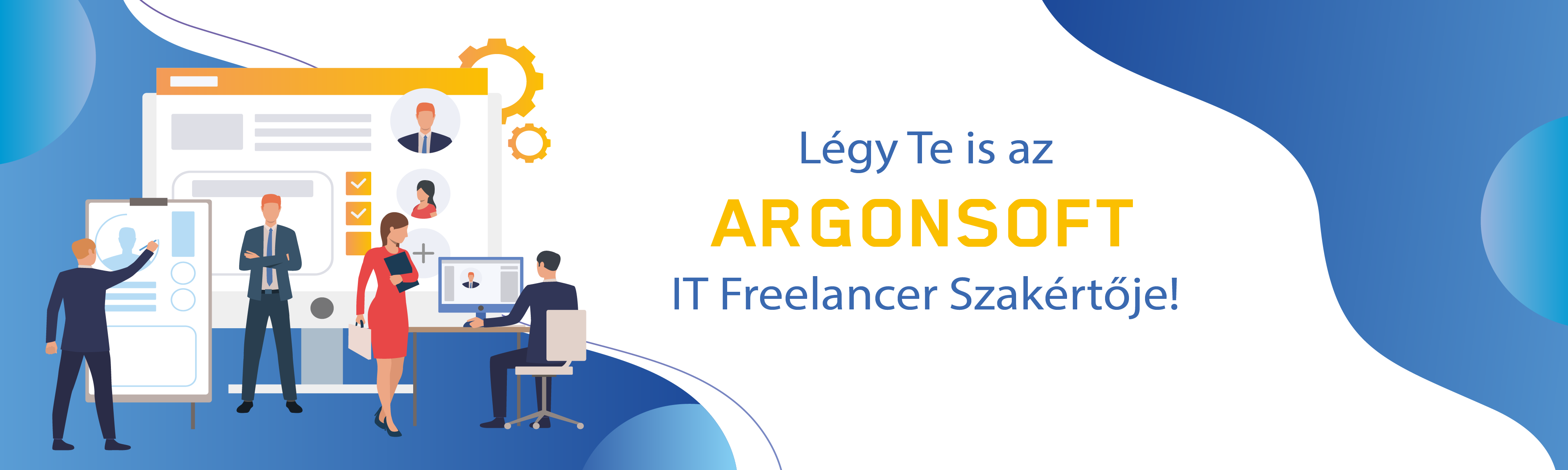 ArgonSoft IT Freelancer Szakértők csapata